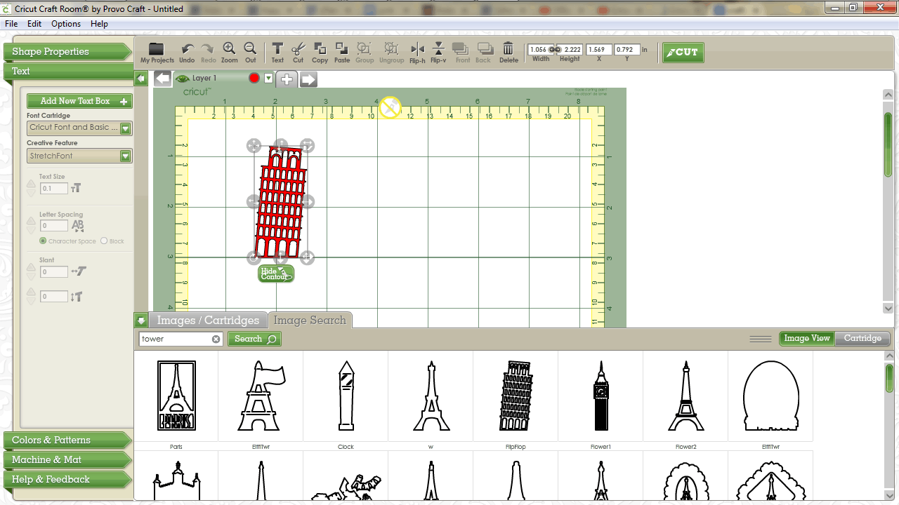 Cricut Craft Room Design Software