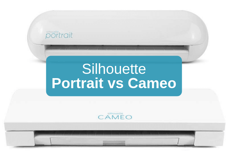 Silhouette Portrait vs Cameo - featured