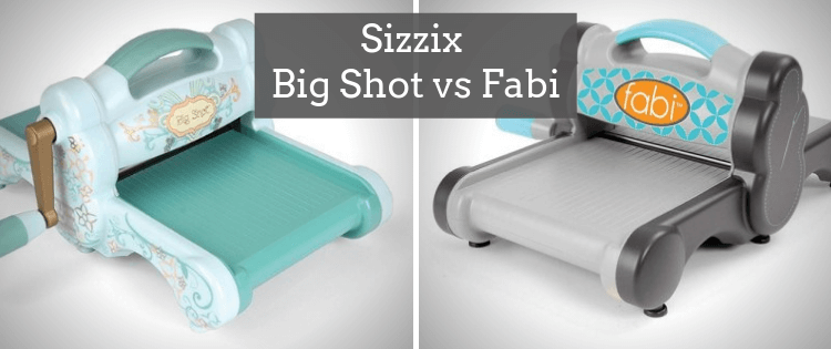 Sizzix Big Shot vs Fabi