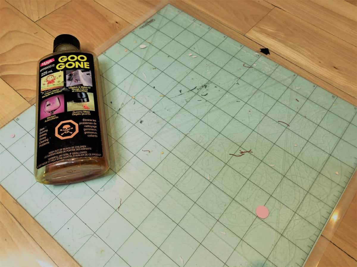 Clean And Restick Your Cutting Mats