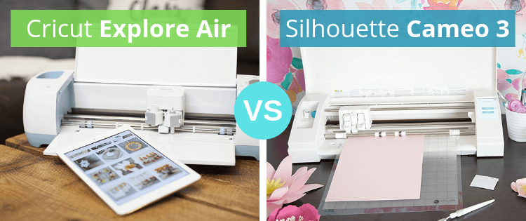 4c302e973 Cricut Explore Air vs Silhouette Cameo 3 - Personal Die Cutting