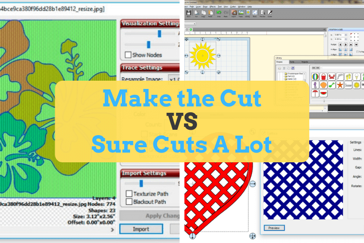 Make The Cut >> Make The Cut And Sure Cuts A Lot Which Is Best For You