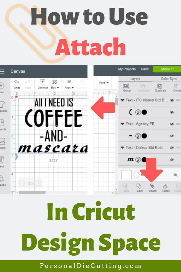 How to Attach in Cricut Design Space