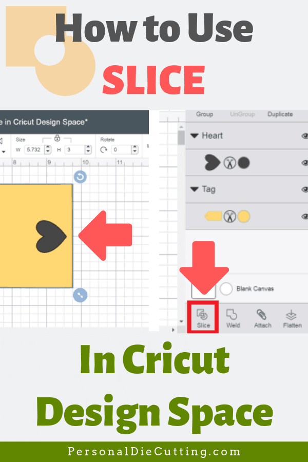 How to Slice in Cricut Design Space