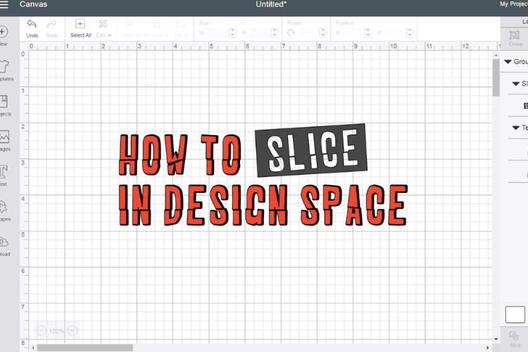 How to Slice in Design Space
