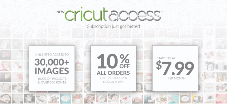 Cricut Access subscription overview