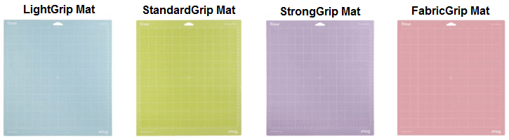 Different types of Cricut Mats
