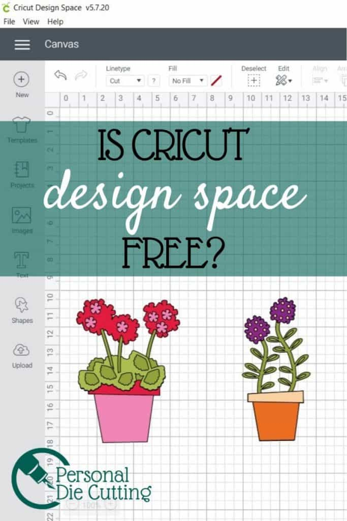 Cricut design space is the software used to design and import images, projects, and patterns to cut out on your Cricut digital die cutting machine. But often users wonder if this software is free. There is confusion between design space and access.  The differences between these two softwares as well as the cost is covered in this article.
