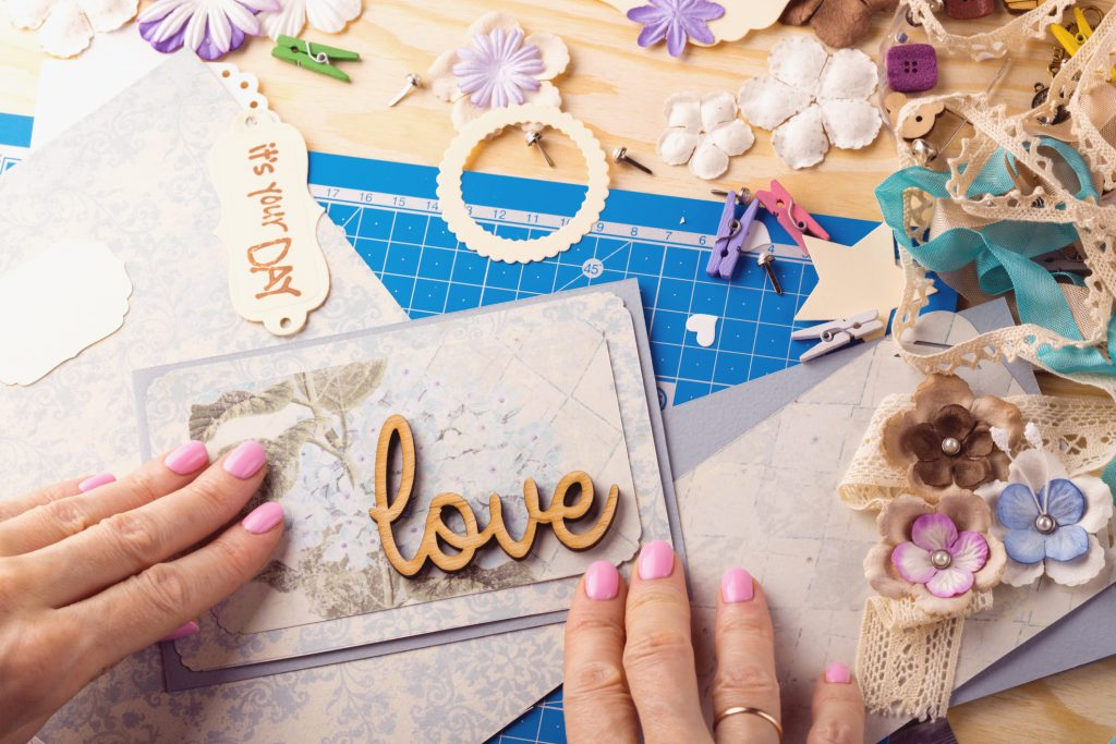 card making and scrapbooking